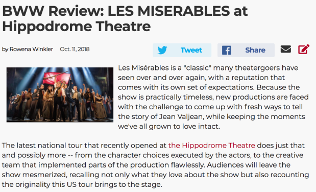 BWW Review Les Mis